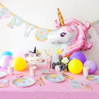 Magical Unicorn Gold Tassle Blowouts - Pack of 8