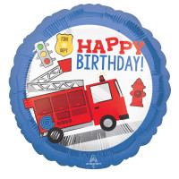 First Responders Emergency Services 43cm Foil Balloon