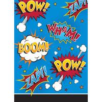 Superhero Slogans Loot Bags - 8 Pack