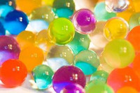Rainbow Water Marbles