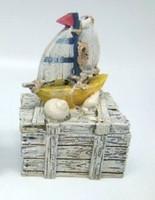 Sailing Ship Trinket Box Favour