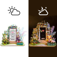 DIY Miniature House Garden Entrance Craft Kit