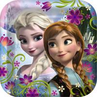 Disney Frozen 22.9cm  Dinner Plates - 8 Pack