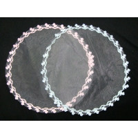 Rockinghorse Design Edged Tulle - 12 Pack (Pink or Blue)