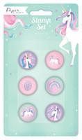 Unicorn Stamp Set - Pack of 6