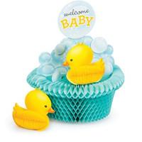 Bubble Bath Baby Honeycomb Centrepiece