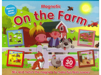 Magnetic - On the Farm Memory Game