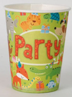Party Animals Party Cups - 8 Pack
