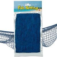Pirate Fish Netting 1.2m x 3.7m - Blue