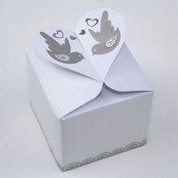 With Love Favour Boxes - Pack of 10
