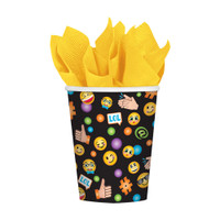 LOL Emoji Party Paper Cups - Pack of 8