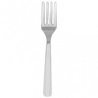 25 Plastic Forks - Silver