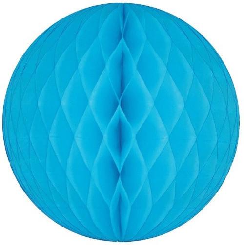 25 cm Honeycomb Ball - Blue