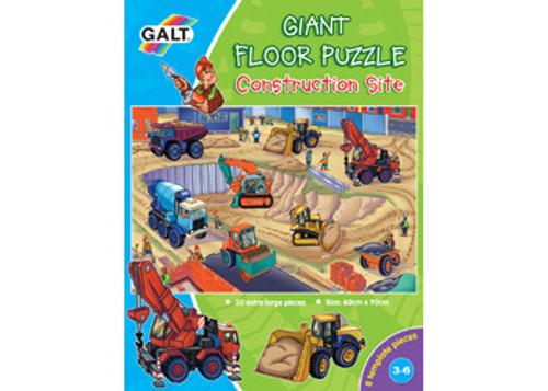 Galt 30 Piece Giant Floor Puzzle - Construction Site