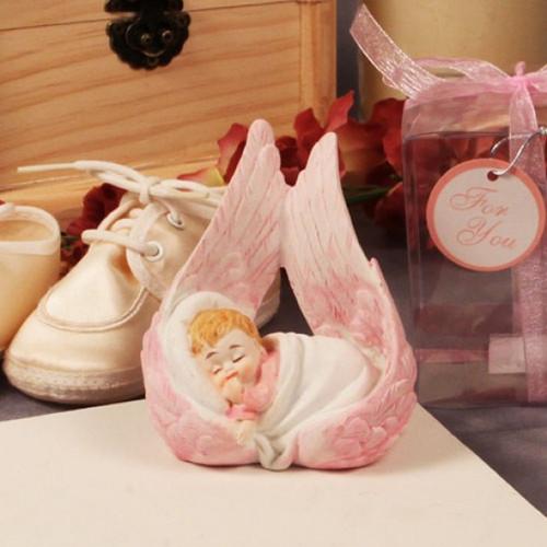 Baby Inside Wing Bonboniere - 6 cm - Girl