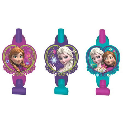 Disney Frozen Blowouts with Medallions - 8 Pack