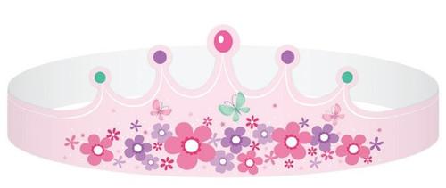 Fairy Garden Tiaras - 8 Pack