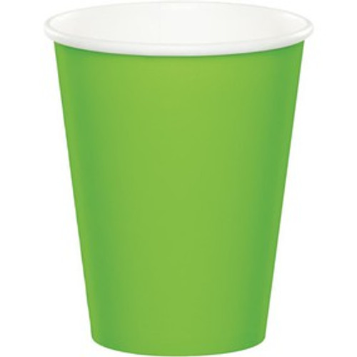 Fresh Lime Paper Cups - 8 Pack