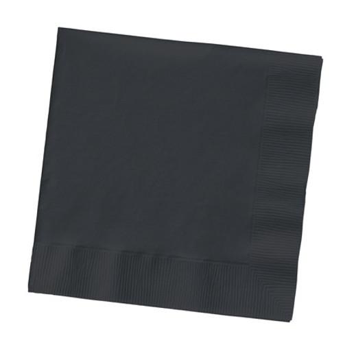 Black Velvet Luncheon Napkins- Pack of 20