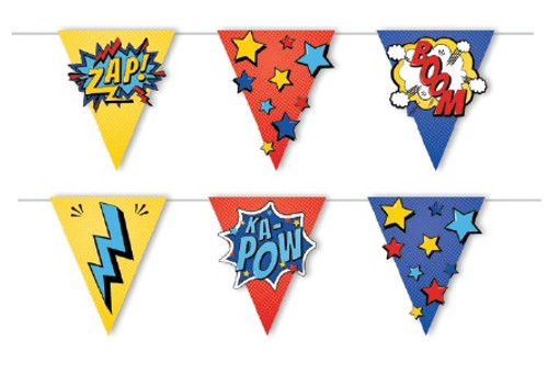 Superhero Party Bunting - 2 Metres