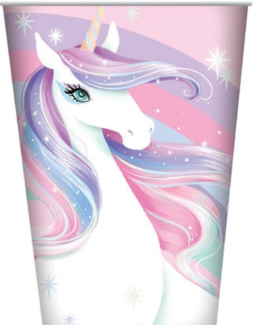 Unicorn Cups - 8 Pack