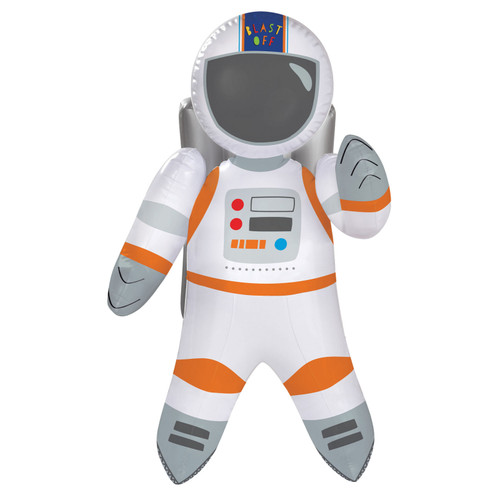 Blast Off Birthday Inflatable Astronaut - 55.8 cms