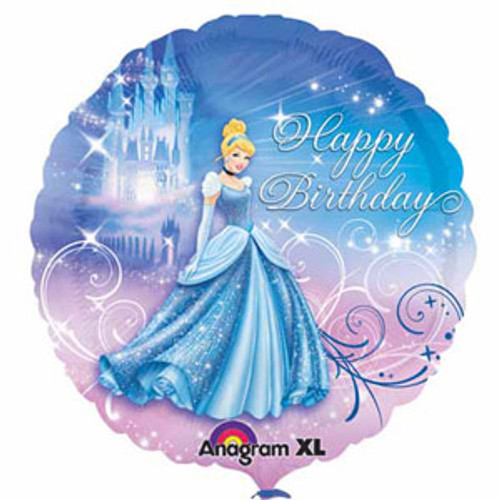 45cm Disney Princess Cinderella Foil Balloon