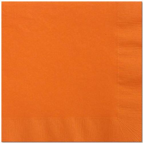 Sunkissed Orange Luncheon Napkins - Pack of 50