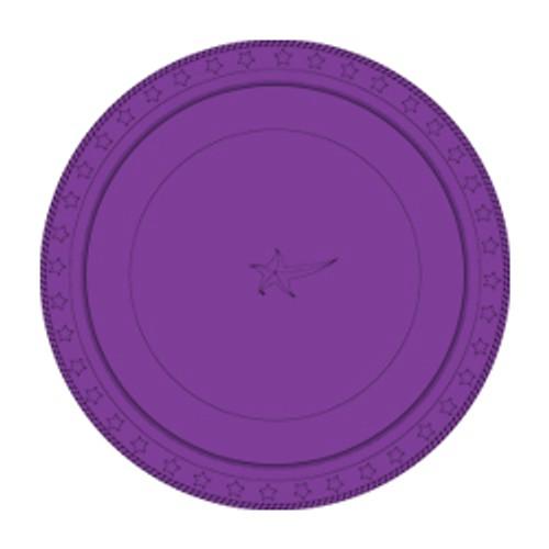 Plastic Plates 23cm - Purple 25 Pack