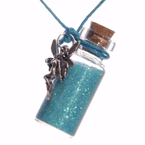 Fairy Dust Glass Necklace - 3 Assorted Colours