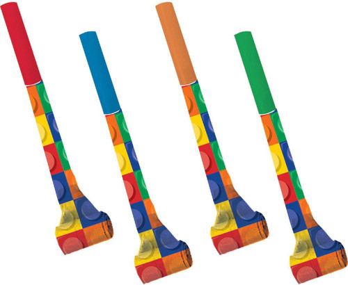 Lego Inspired Block Party Blowouts - 8 Pack
