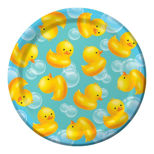 Bubble Bath Baby Lunch Plates - Pack of 8