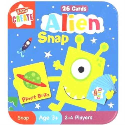Alien Snap Cards