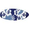 Surfboard - Navy Hibiscus
