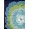 Watercolor Blue Blossom