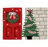 Home for the Holidays Christmas Rug w/ Christmas Tree 20 x 30 Jellybean Accent Rug