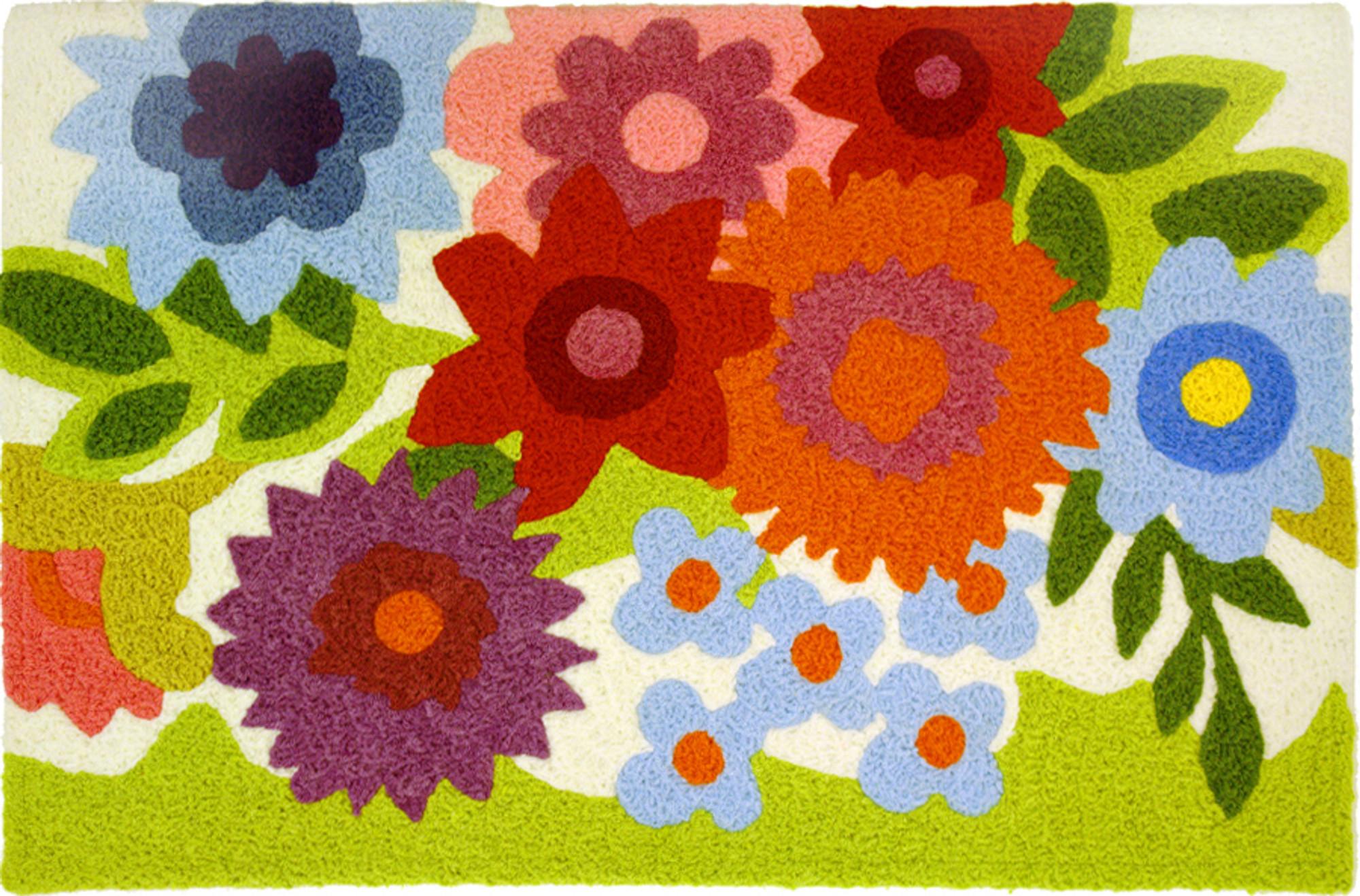 Flowery Garden Jellybean Accent Rug