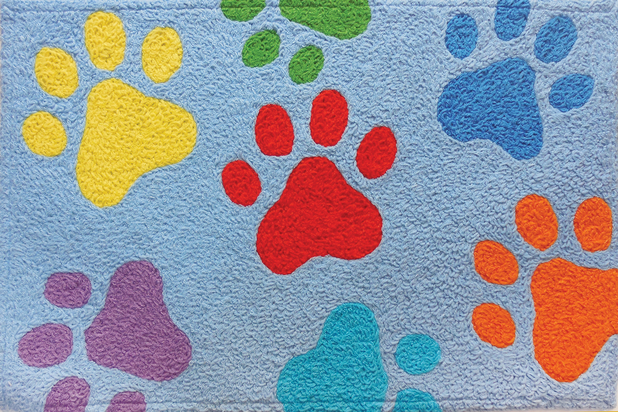 Colorful Paws