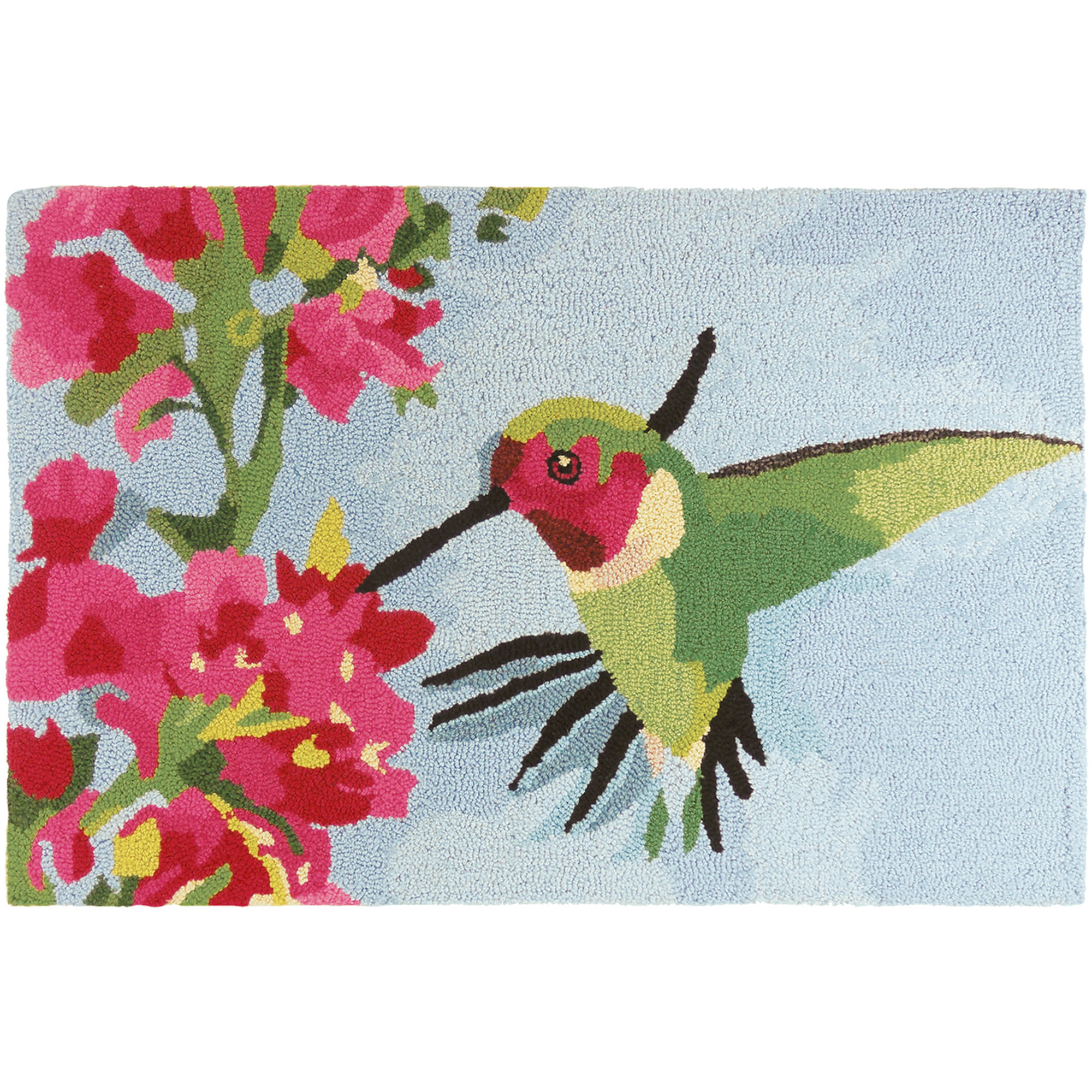 Hummingbird &  Geraniums