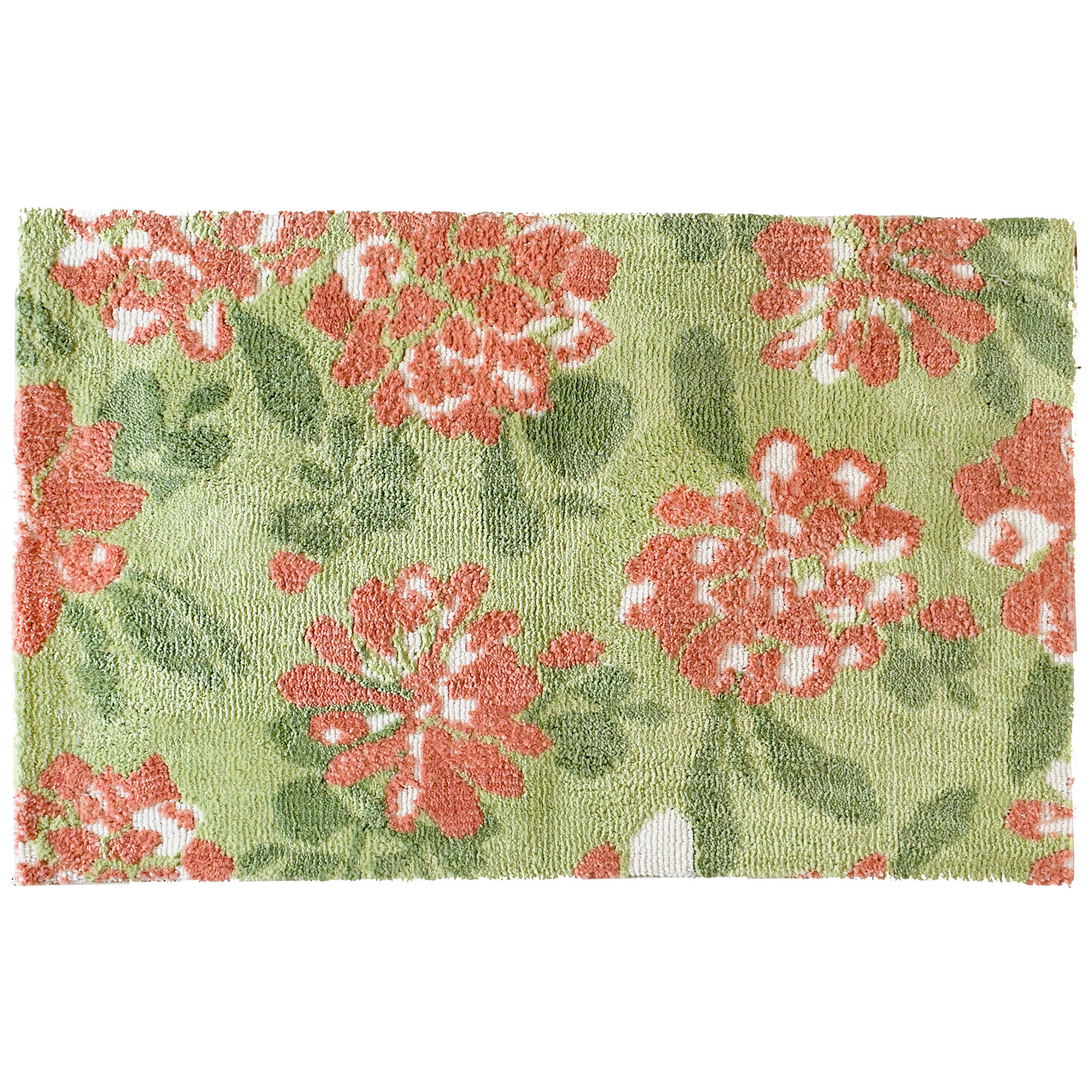 Designer Deane Beasley has captured the essence of a flush garden with full pink blooms on this Simple Spaces by Jellybean® accent rug. Also available in a 21' x 54' sizing, this Simple Spaces by Jellybean® makes a great bath rug.