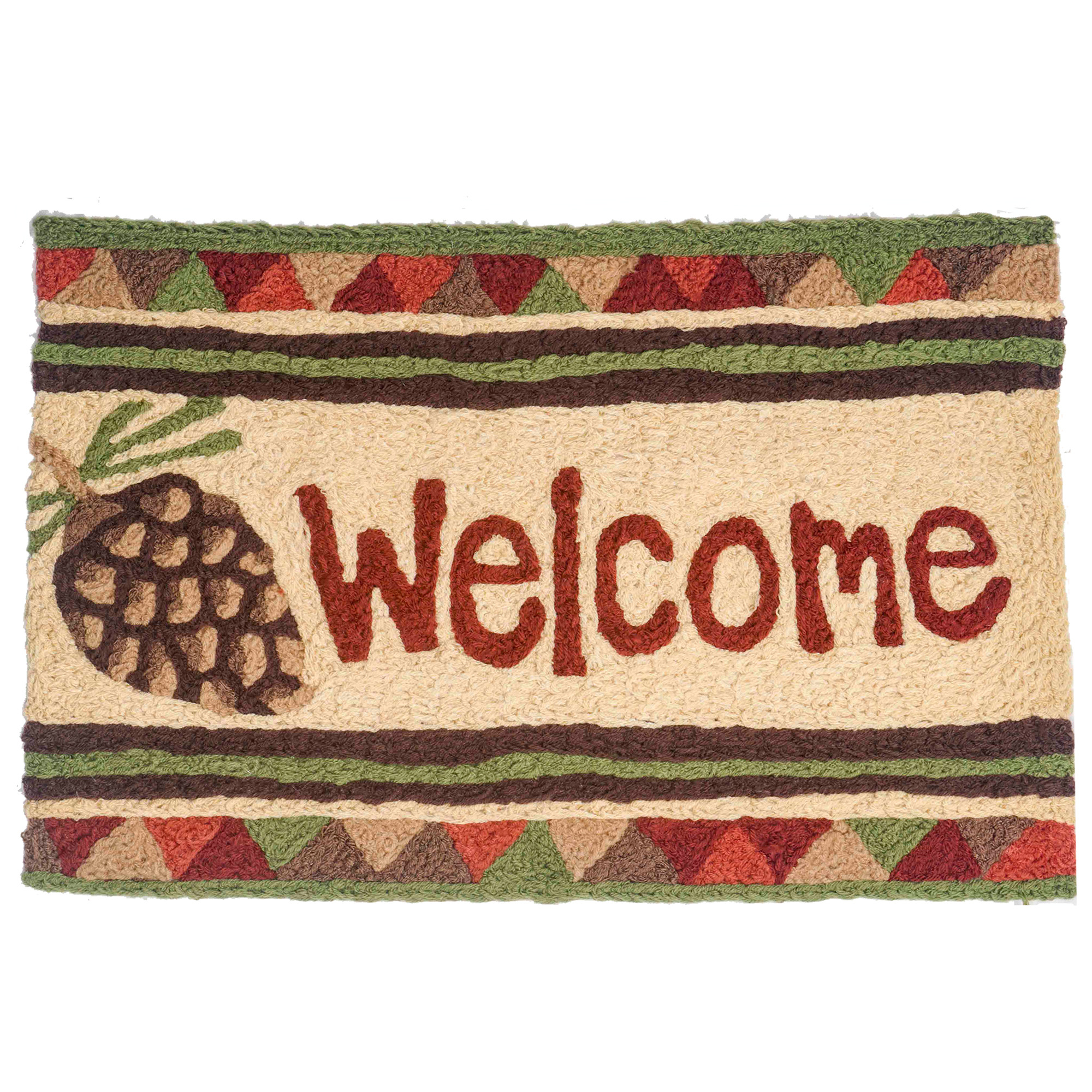 Pine Cone Welcome