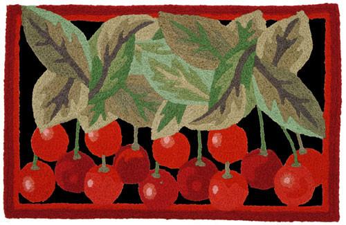 Jellybean Wild Cherries Accent Rug