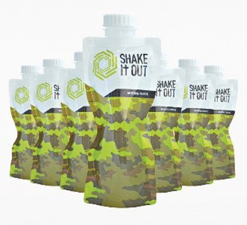 SHAKE It OUT ® - Camo Travel 7 Shakers