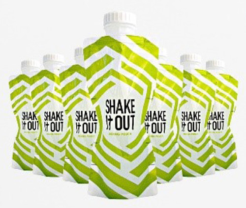 SHAKE It OUT ® - Original FITNESS-FLASK Pack of 7