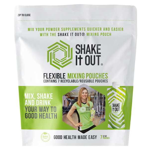 SHAKE It OUT ® - Original Pack of 7 - Front of Package