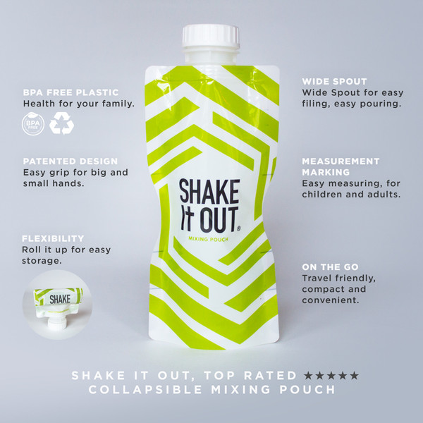 Private Label Shake It Out Shaker!
