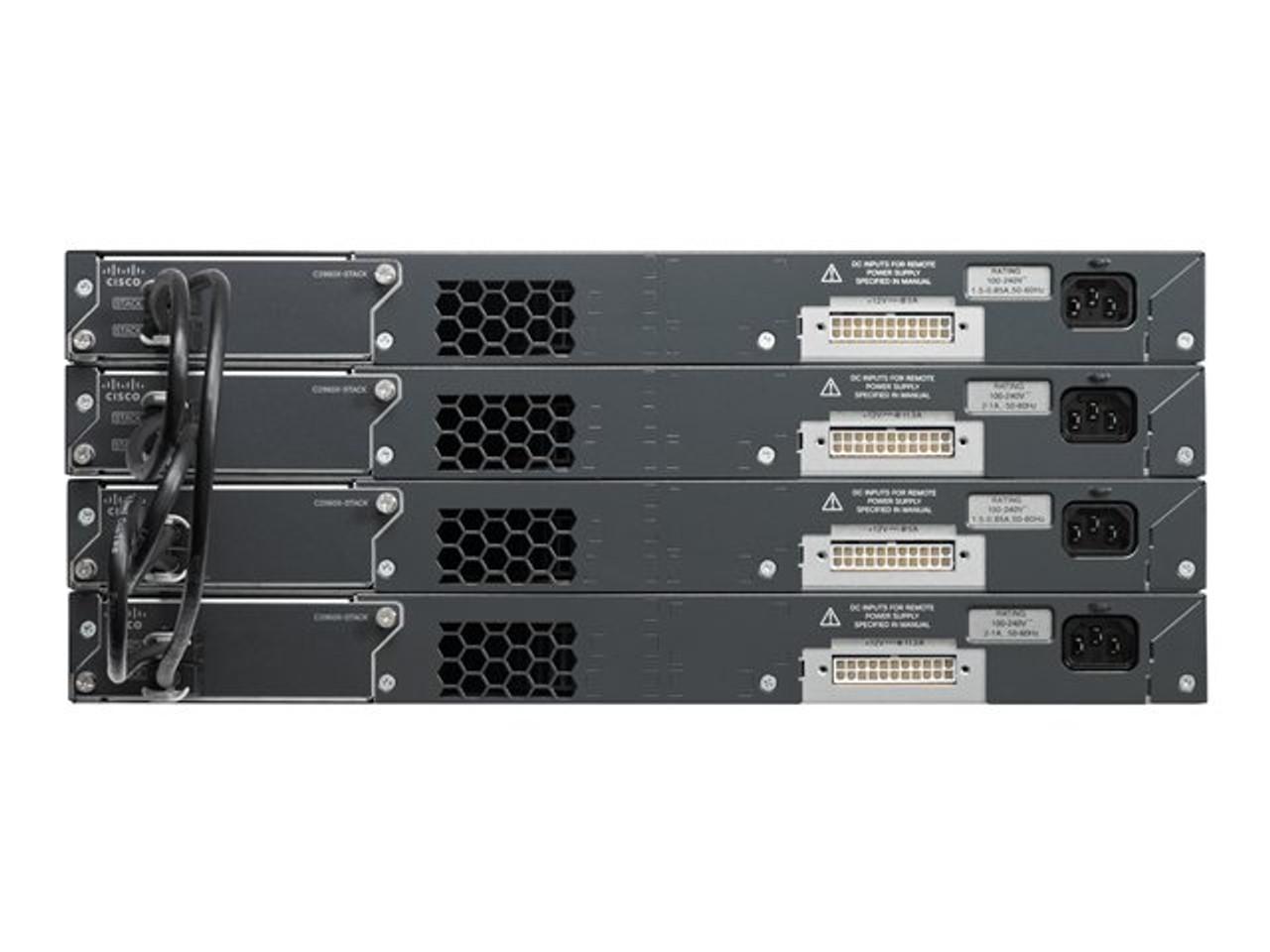 Cisco Catalyst WS-C2960X-48TS-L Switch 48 Ports Managed Desktop