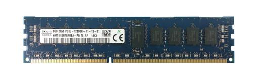 HMT41GR7BFR8A-PB - Hynix 8GB PC3-12800 DDR3-1600MHz ECC Registered CL11 240-Pin DIMM 1.35V Low Voltage Dual Rank Memory Module