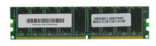 MEM2811-256U768D - Cisco 512MB PC2100 DDR-266MHz Memory Dram Module 256 to 768MB DRAM Memory Upgrade for CISCO 2811