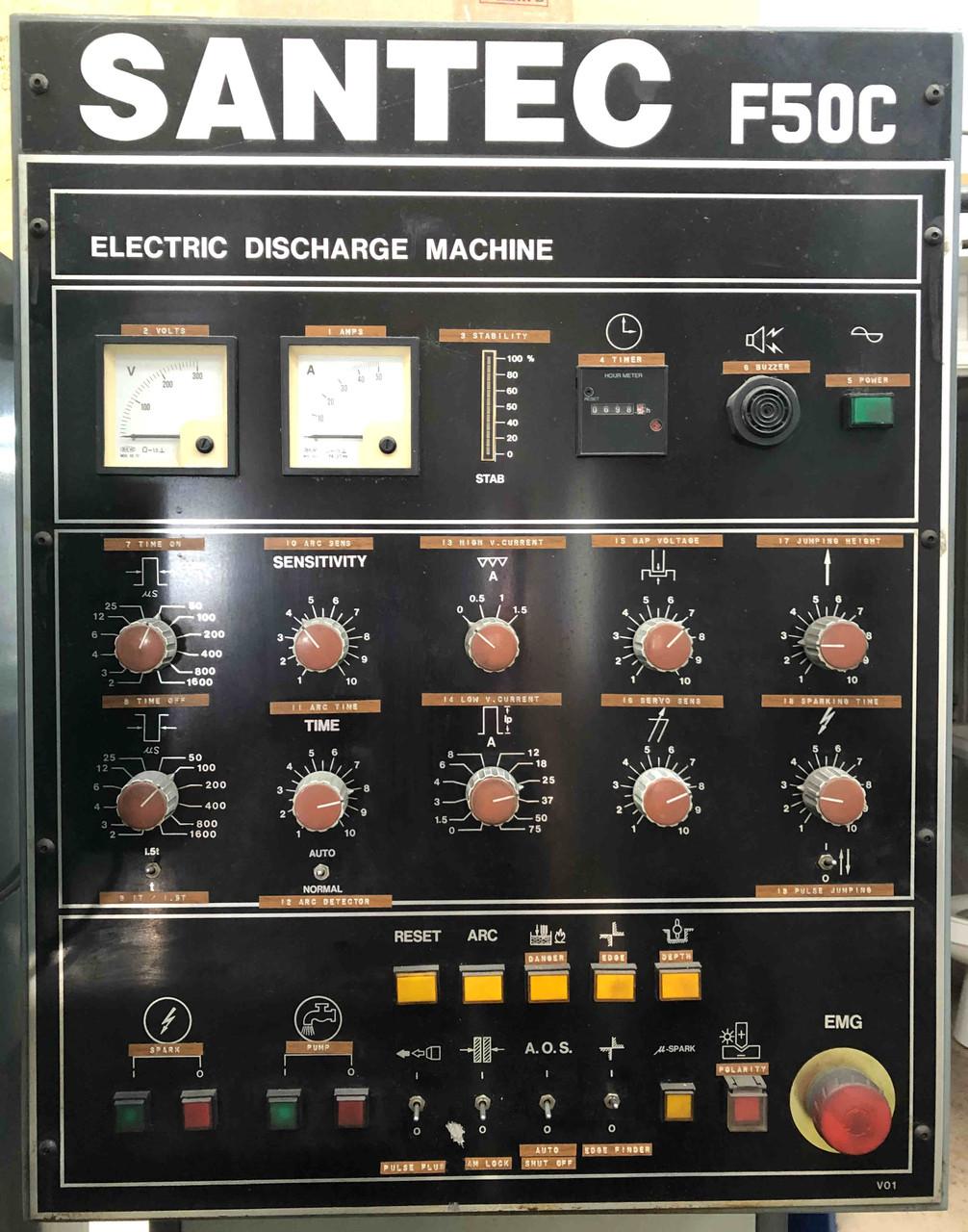 Santec - Sharp - EZ Spark Power Supply Manual - F25C, F36C, F50C